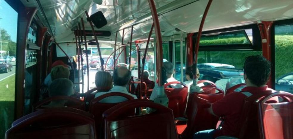 Los autobuses lanzadera «ganan usuarios»