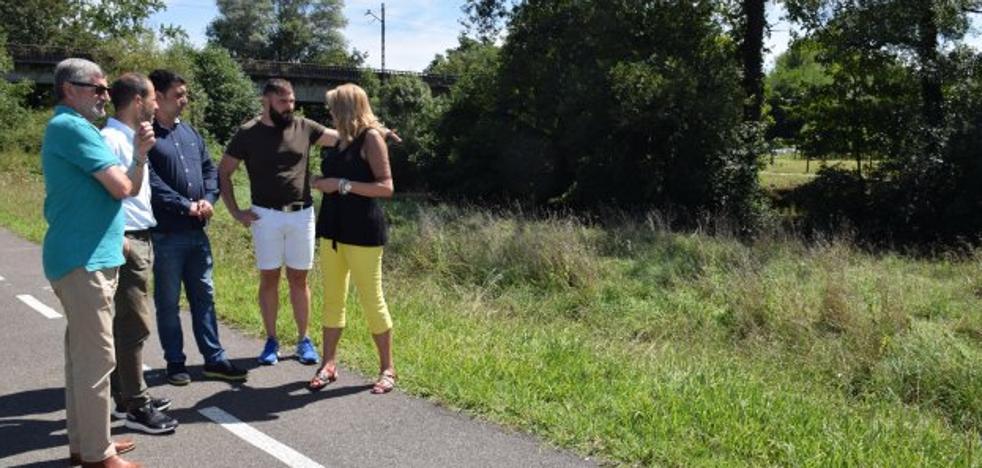 Siero licita la pasarela que unirá las sendas peatonales de Colloto y Granda