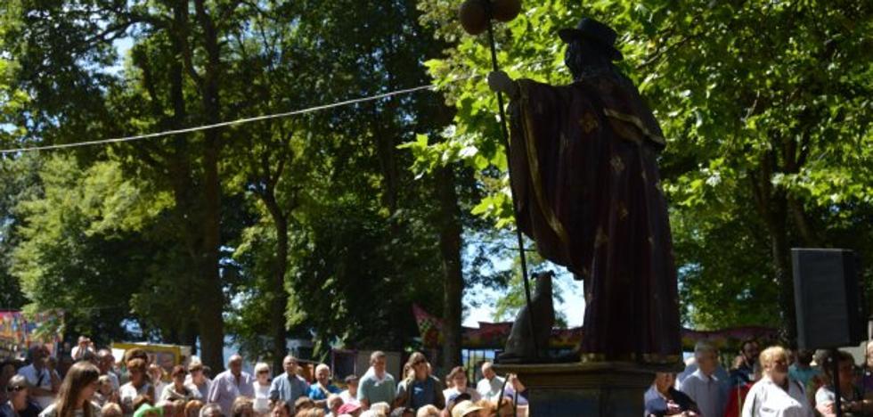 Los romeros veneran a San Roque
