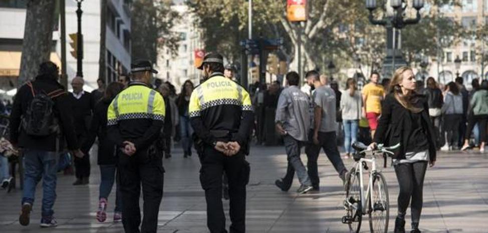 Atropello con heridos en Las Ramblas de Barcelona