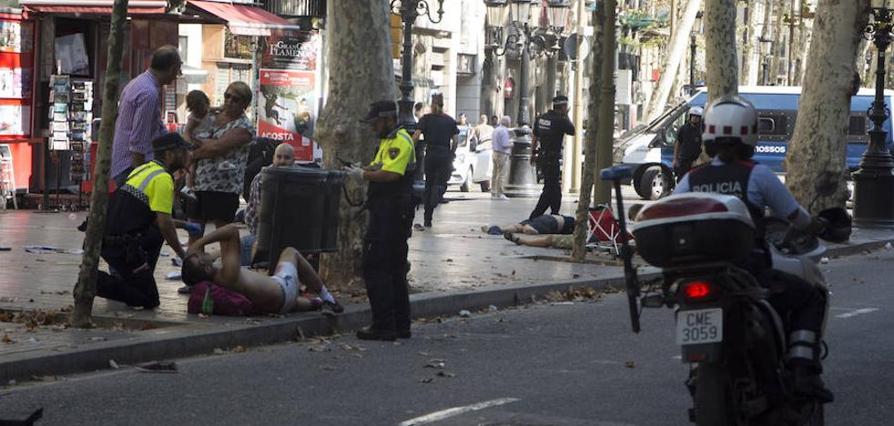 El horror en el centro de Barcelona