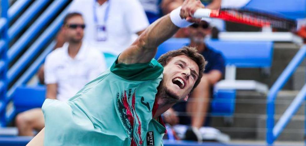 Carreño se jugará el pase a cuartos de final con Ferrer