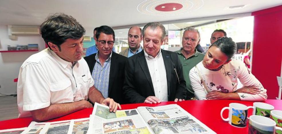 Ciudadanos elogia la marcha de la Fidma en su visita a EL COMERCIO