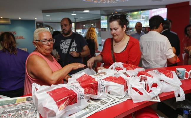 El estand de EL COMERCIO mantiene el tirón de ventas