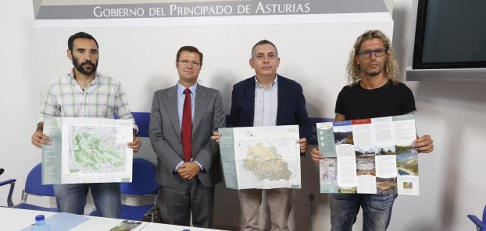 30.000 mapas de las reservas de Redes, Muniellos y Somiedo para los visitantes