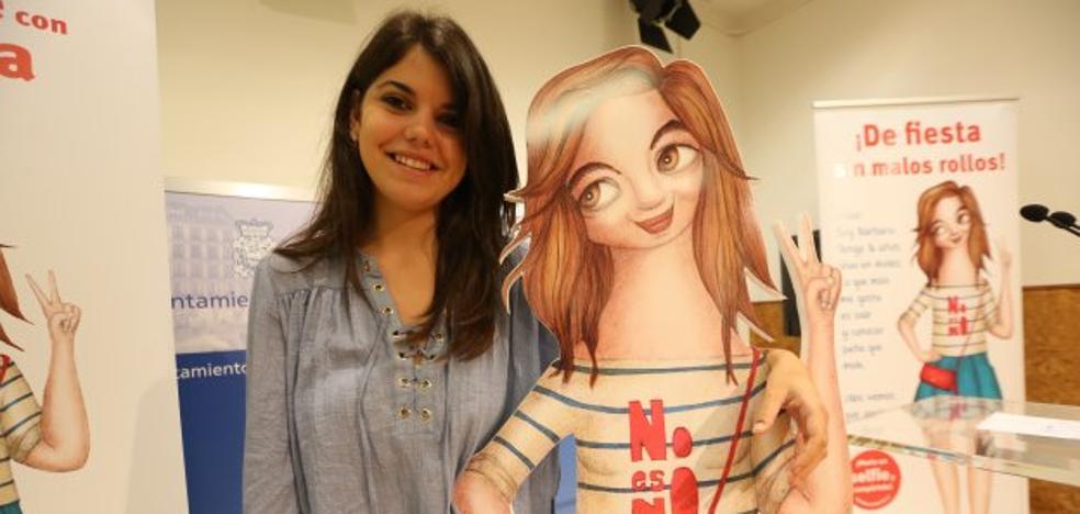 Un 'selfie' con Bárbara por la igualdad