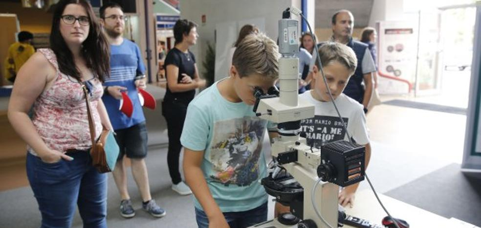 'Ciencia muy mini' en la Universidad de Oviedo