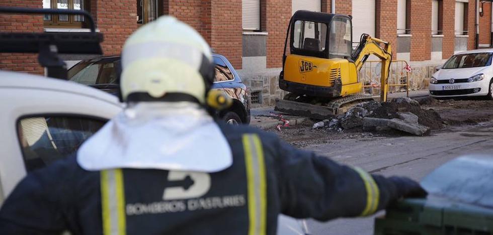 Desalojo en Pola de Lena por una fuga de gas