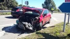 Una mujer, herida en un accidente en la localidad llanisca de Naves