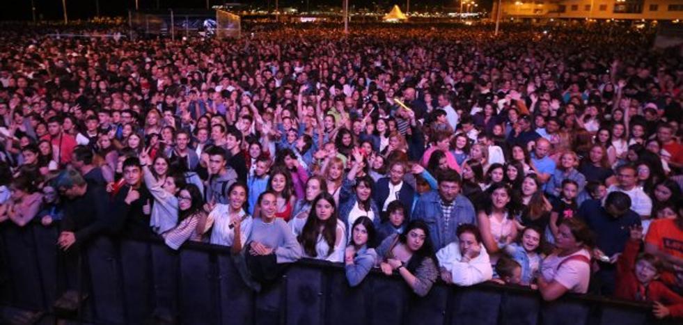 El Ayuntamiento de Gijón, satisfecho con una Semana Grande «en la que crecimos en todo»