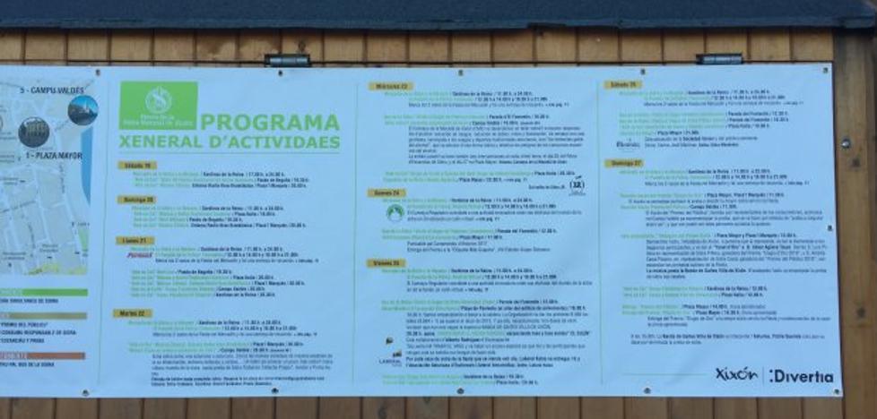 Ciudadanos critica que solo se publique en asturiano el programa de la Fiesta de la Sidra