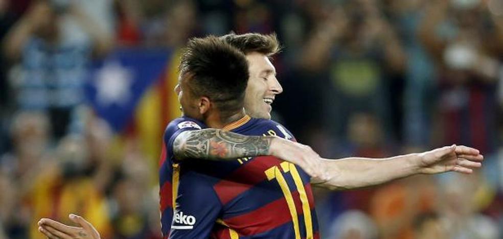 Messi se reúne con Neymar y Suárez: «Volvió»