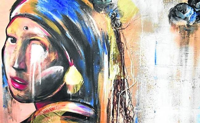 La pintura para invidentes llega a Asturias