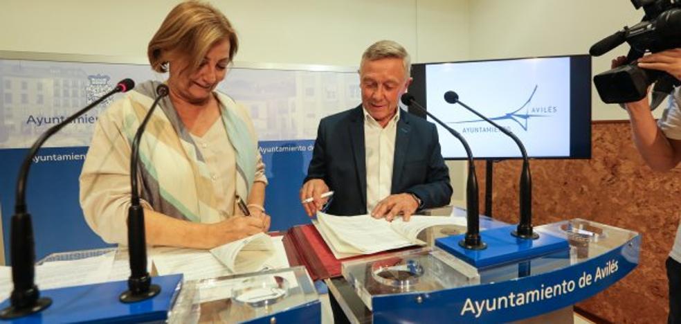 El 'Pacto por el Comercio' postula un Avilés como ciudad de compras