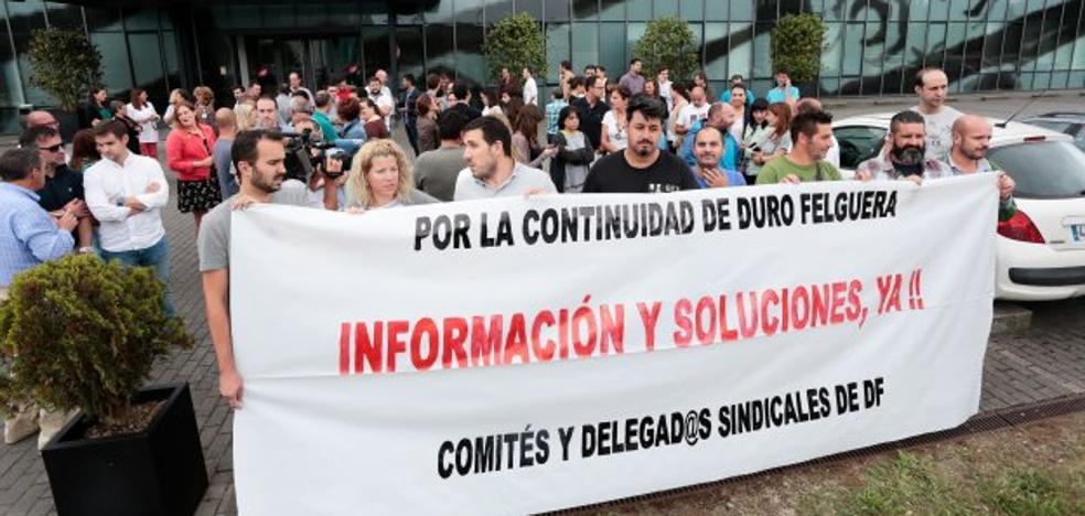 Los trabajadores de Duro intensificarán sus protestas si la dirección les ignora