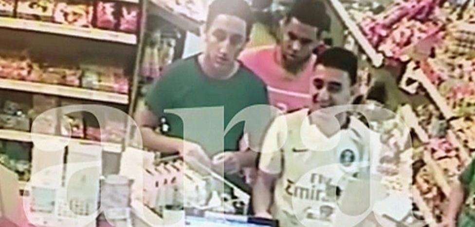 La cámara de una gasolinera grabó a los terroristas comprando antes de atacar