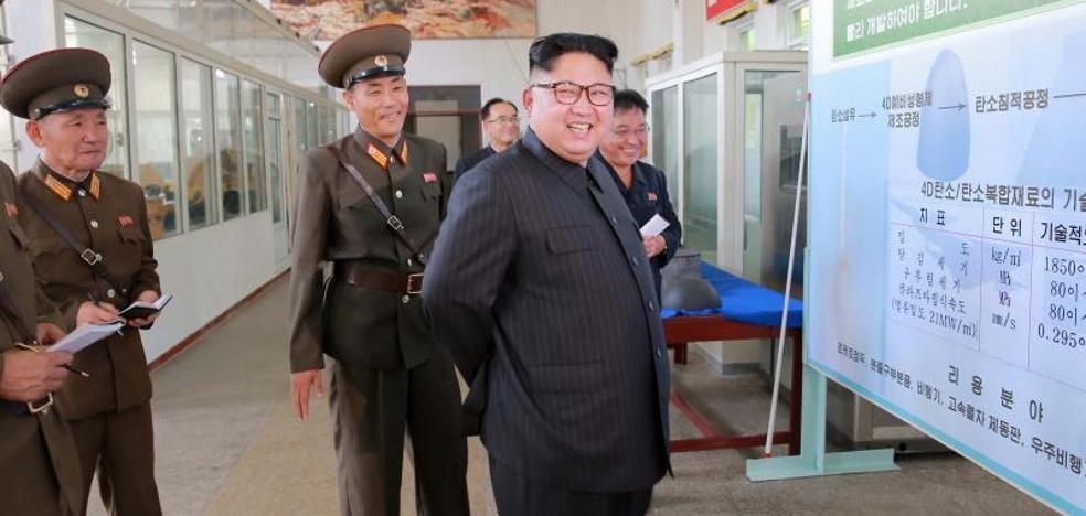 Pyongyang ordena producir más motores de cohetes de combustible sólido y ojivas
