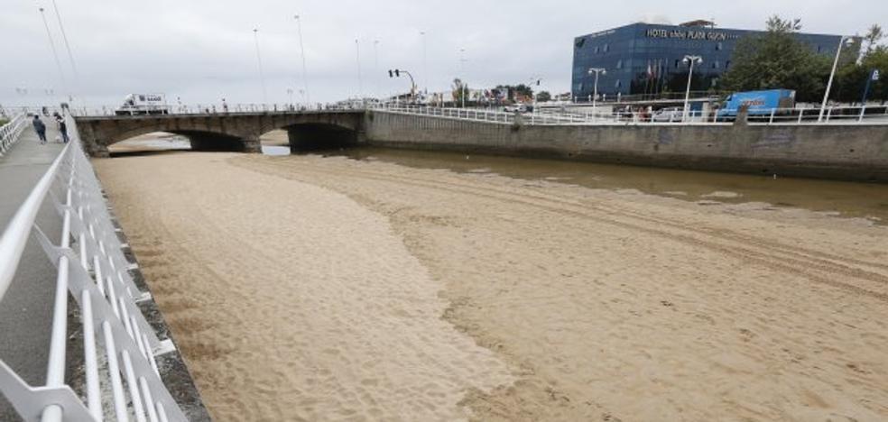 Análisis de arena sin aportes a la playa