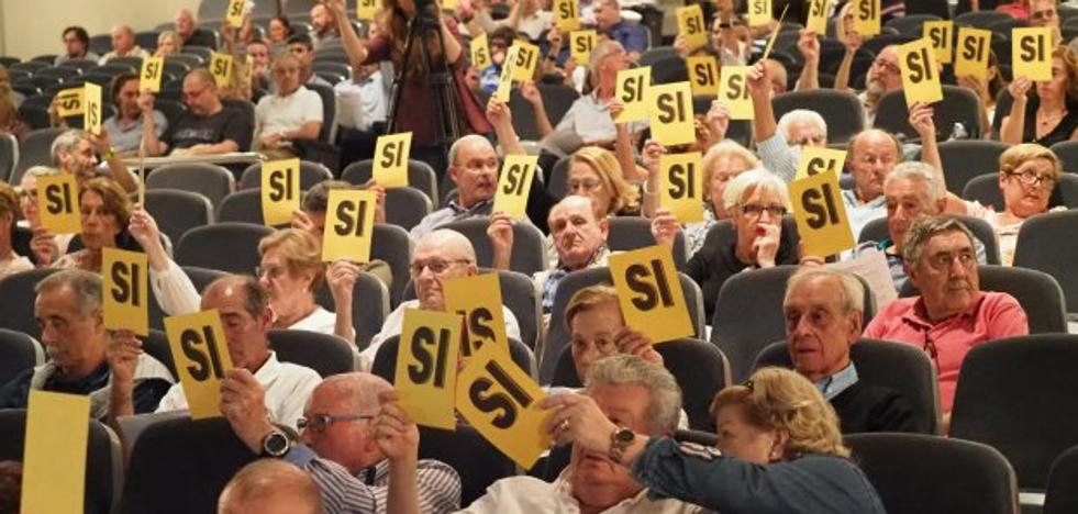 El Grupo ratifica, sin oposición, todos los acuerdos anulados por el Supremo