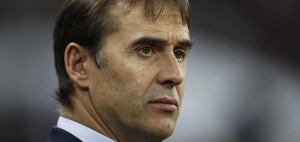 «David Villa tiene ganas de competir», ensalza Lopetegui después de convocar al asturiano