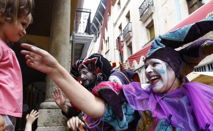 El Mercado Medieval abre sus puertas en Avilés