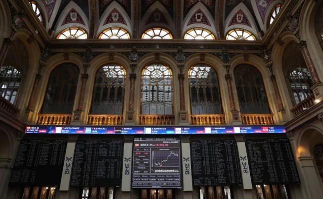 El Ibex vuelve a niveles de marzo por Corea del Norte y el euro