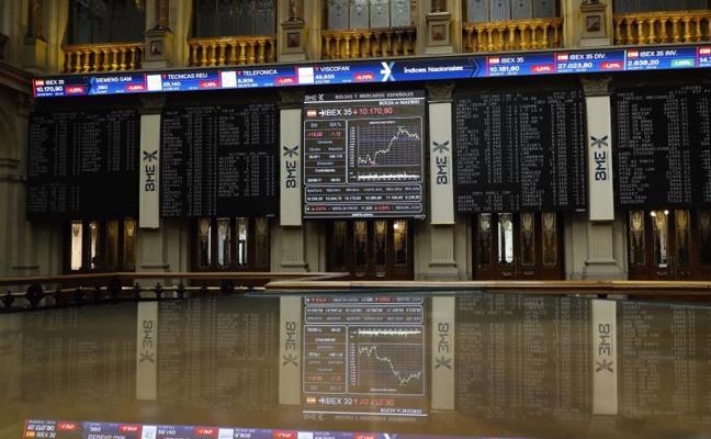 El Ibex despide agosto con otra caída y al filo de los 10.300 puntos