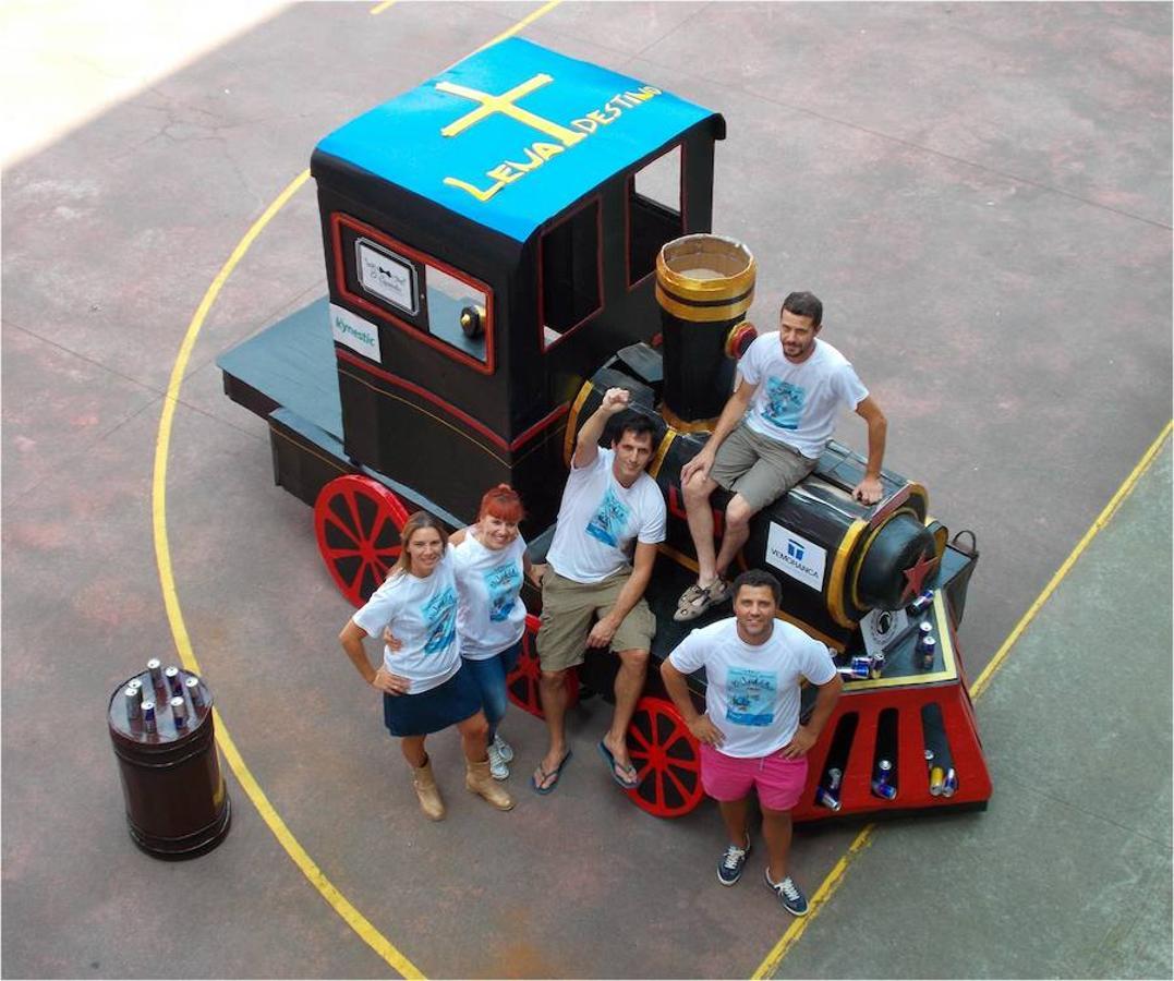 Los artilugios que volarán en la prueba de RedBull en Gijón