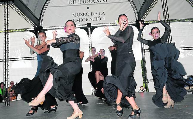 Bailes flamencos inspirados en Ribadedeva