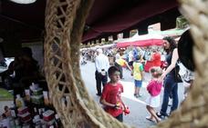 Mercado, juegos y pulpo en Teatinos