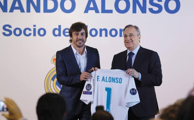 Alonso: «Nací para ser hincha del Real Madrid»