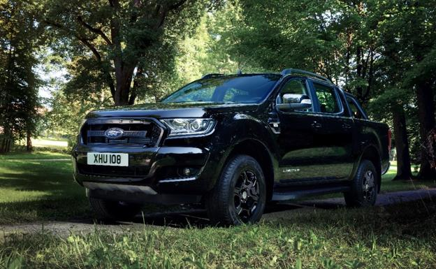 Ford Ranger Black Edition, un «pickup» de lujo