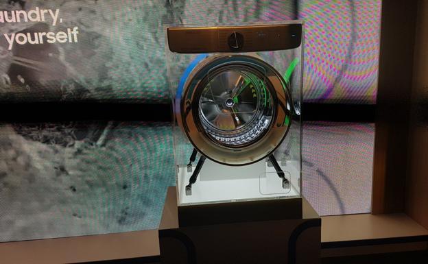 La lavadora 'inteligente' de Samsung presentada en IFA.