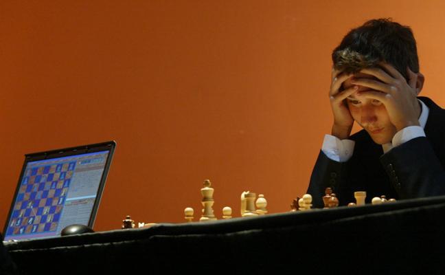 Un problema de ajedrez inquietante