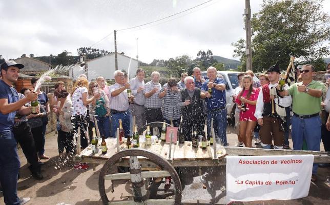 Poreñu, Pueblo Ejemplar de Asturias 2017