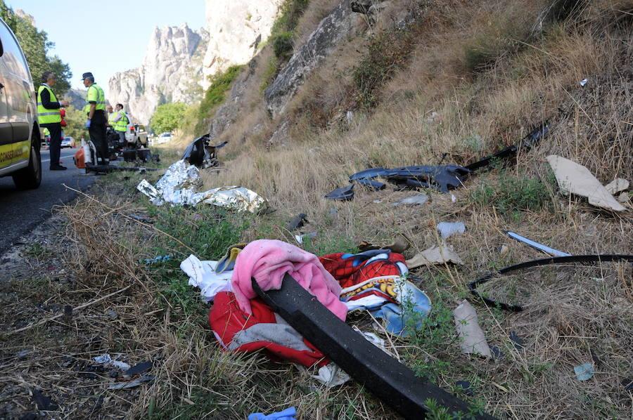 Trágico accidente con cinco muertos en Pancorbo, Burgos