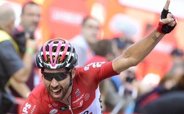 Así fue la llegada de La Vuelta a Gijón