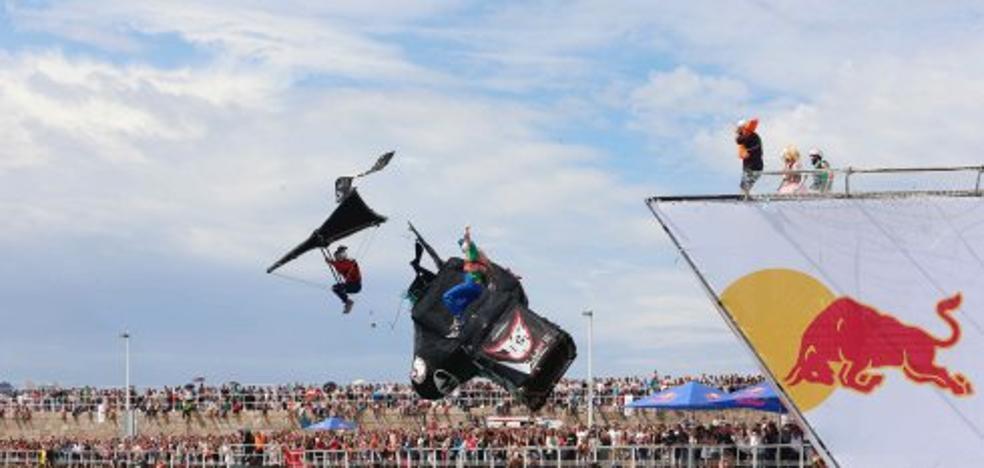 Red Bull asegura que el 'Día de las Alas' dejó más de un millón de euros de gasto en la ciudad