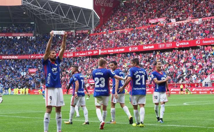 Las imágenes del derbi asturiano, Sporting - Oviedo (2)