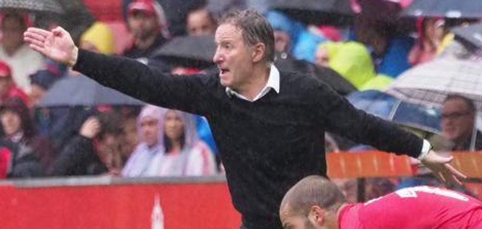 Sporting - Oviedo | Anquela: «El premio ha sido acorde con el esfuerzo»