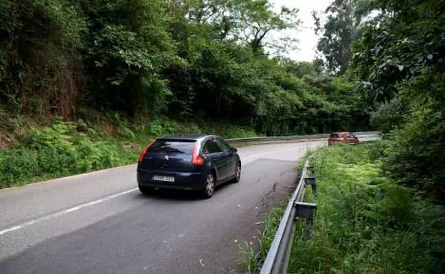 Carreteras quiere frenar los hundimientos en la N-632 a su paso por Ribadesella