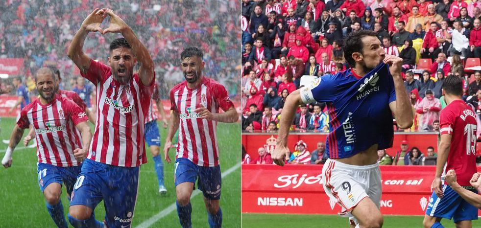 Sporting - Oviedo | Un esperado derbi que fue una fiesta