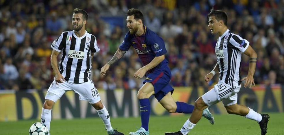 El alumno Dybala asiste a otra clase magistral de Messi
