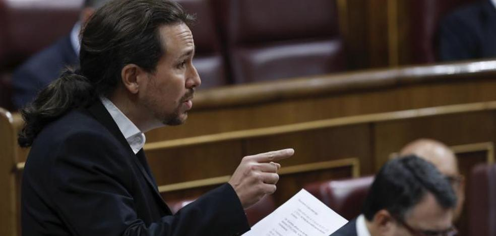 Iglesias ve «terrible» que se prohíba un acto independentista en Madrid