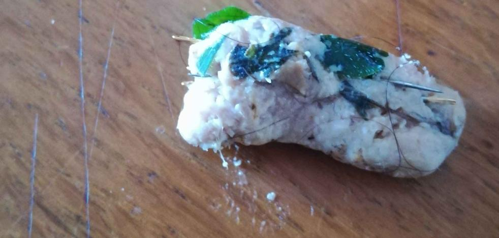 Encuentran más carne con alfileres en áreas verdes de Gijón