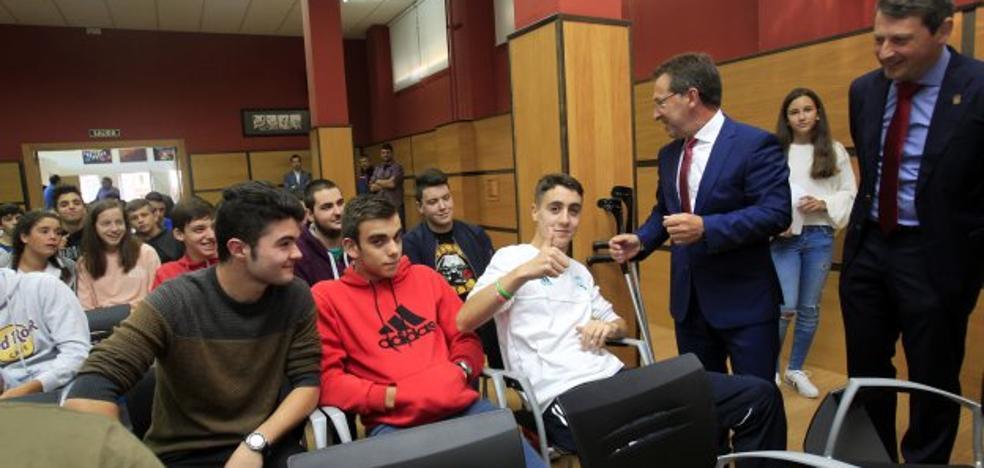Las aulas de ESO y Bachillerato ganan 424 alumnos y llegan a los 39.392