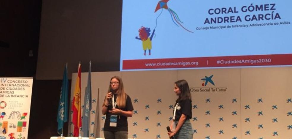 Avilés, en el Congreso Internacional de Ciudades Amigas de la Infancia