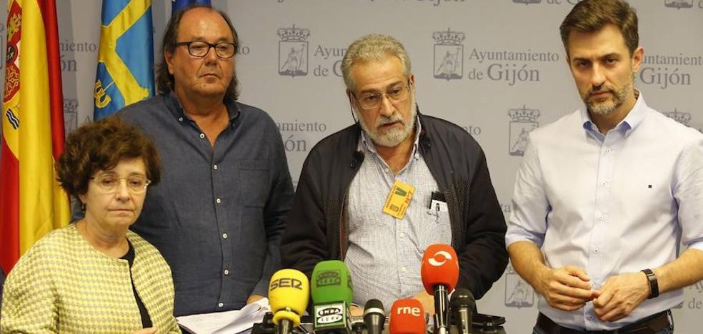 PSOE, XsP e IU en Gijón advierten de que prohibir el debate sobre Cataluña vulnera derechos democráticos