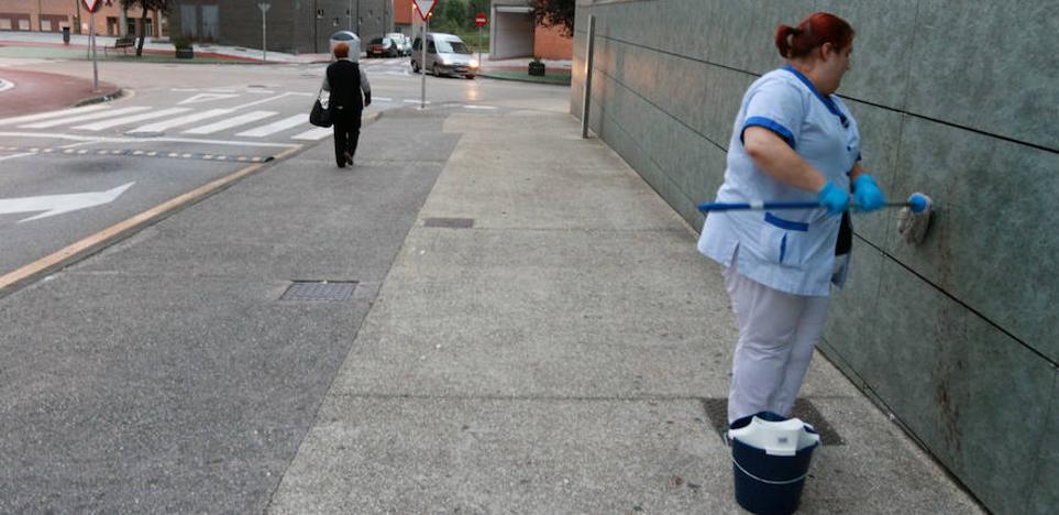 El autor de la agresión con un hacha en Mieres se entrega a la Guardia Civil