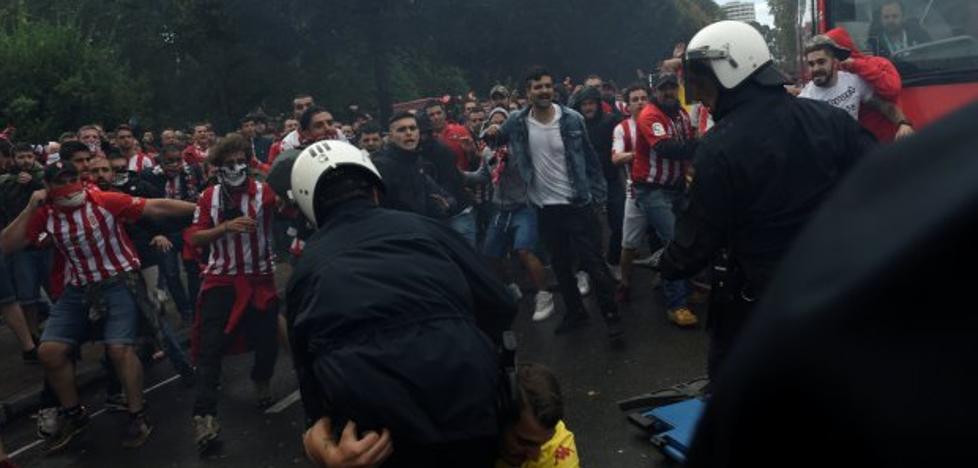 La Liga propone sancionar al Sporting por los cánticos contra el Oviedo